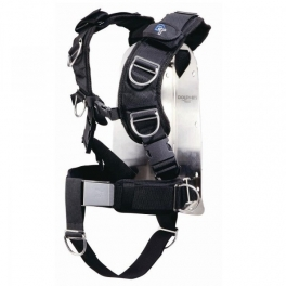 Back pack harness deluxe alumino